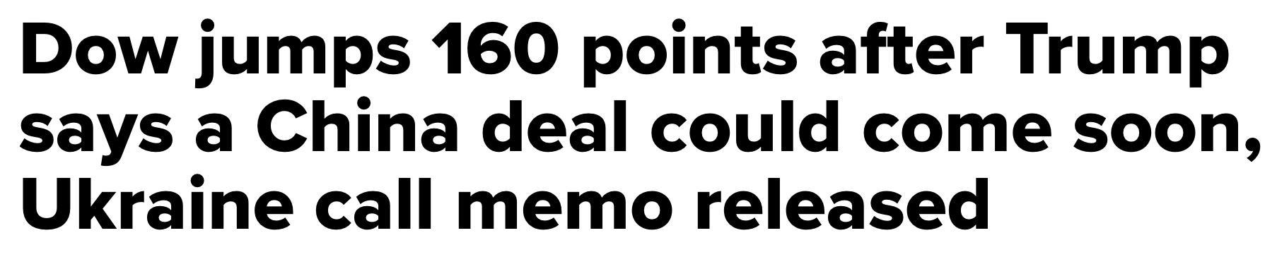 CNBC headline contradicts yesterday's headline