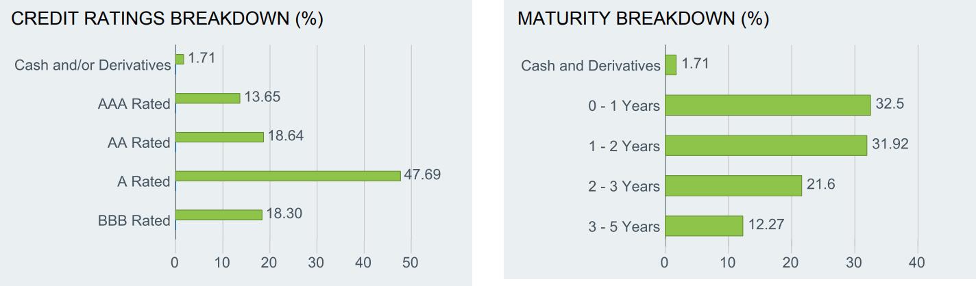 FLOT etf fact sheet for cash replacement